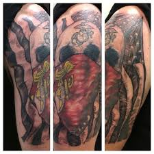devil dog ink 104 insanely dope marine corps tattoos tattooblend