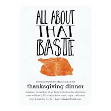 thanksgiving invitations announcements zazzle