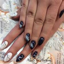 nails done by tony at cnd creative nail designs in bedford nh