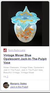 Jack In The Pulpit Vases Who Made This Vaseline Glass Jack In The Pulpit Vase Antiques Board
