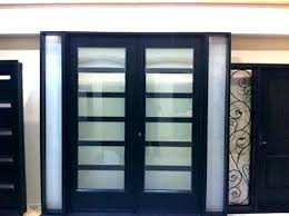 Exterior Door Inserts Frosted Glass Exterior Doors Glass Panels For Front Doors Stylish