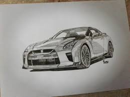 paul walkers nissan skyline drawing nissan skyline gtr drawings nissan skyline drawing viewing