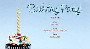 easy and lovely birthday invitations birthday