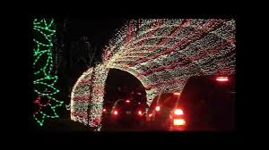 winter park christmas lights winter wonderland at tilles park youtube