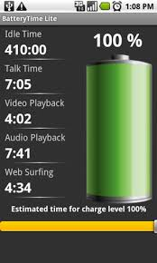 best android battery app batterytime android app review
