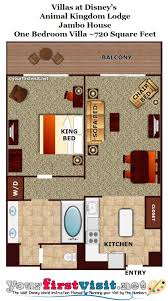 1 Bedroom House Floor Plans Review Disney U0027s Animal Kingdom Villas Jambo House