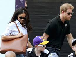 Meghan Markle Prince Harry Prince Harry Meghan Markle Step Out Holding Hands At Invictus