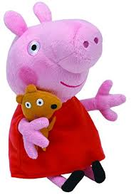 amazon ty beanie babies peppa pig regular plush toys u0026 games