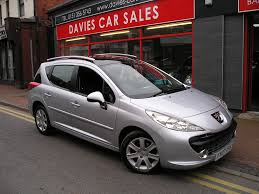 sales peugeot peugeot 207 1 6 sw sport 90 5dr manual for sale in ellesmere port