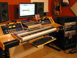 How To Build A Home Studio Desk by Music Studio Desk Plans Muallimce