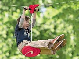 Backyard Zip Line Without Trees by Setting Up A Zip Line In Your Backyard Dimension Zip Lines