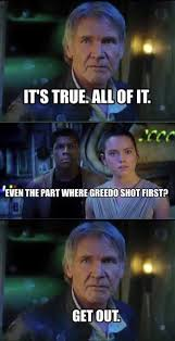 Solo Meme - 11 of the funniest star wars the force awakens memes unbound worlds