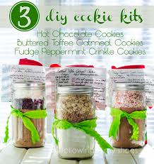 cookie gifts for my fellow procrastinators 3 diy cookie mix kits and printables