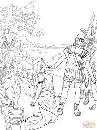 david and jonathan color page u2014 david dror