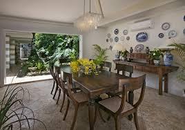 dining room table flower arrangements lighting capiz chandelier for great dining room design with