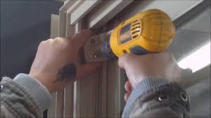 How To Remove Patio Door How To Remove A Patio Door Panel