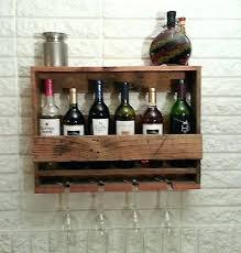 wine rack solid wood wall mounted wine glass rack vintage