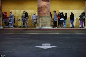shopper de home depot puerto rico black friday black friday one man is stabbed in row over parking space and