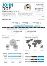 Infographic Resumes Infographic Resume Vol 2 By Paolo6180 Graphicriver
