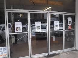 glass door for business the fairhope times iconic downtown business closes doors for good