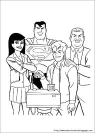 Superman Coloring Pages Free Kids
