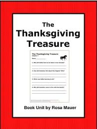 the thanksgiving treasure book unit by rosa mauer tpt