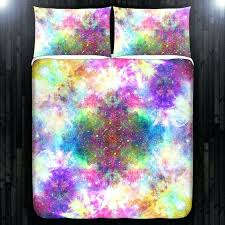 Space Single Duvet Cover Amazing Bright Red Galaxy Print 4 Piece Duvet Cover Sets Galaxy