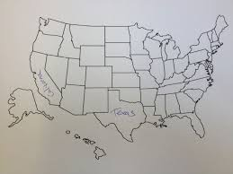 United States Map With Labeled States by This Is What Happens When Americans Are Asked To Label Europe And