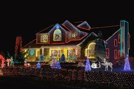 Deer Christmas Lights Long Island 2016 Holiday Light Tours Newsday