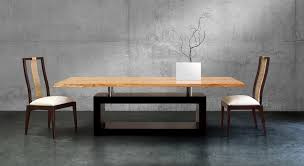 Modern Contemporary Dining Table Cool Best Dining Room Tables With Dining Table And Six Chairs