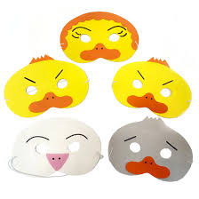 ugly duckling masks children u0027s story masks