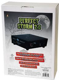 used animated halloween props for sale special effects dj perfect storm thunder sounds lights controller
