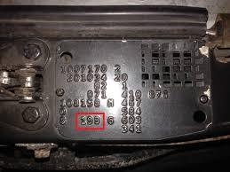 mercedes w201 190e 2 5l 16 valve paint code location mercedes