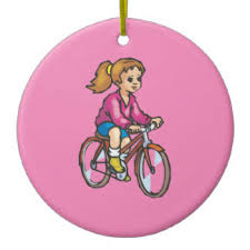 cycling ornaments keepsake ornaments zazzle