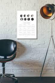 freebie printable 2017 moon calendar on behance