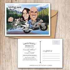 Custom Made Invitation Cards Custom Made Wedding Invitations With Personalized Cartoon