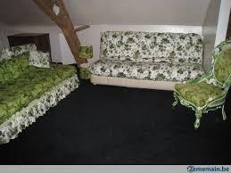 canapé style canapé 2 chauffeuses fauteuil style cottage assortis a