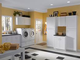 White Cabinets For Laundry Room White Cabinets Rockford Door Style Cliqstudios Contemporary