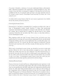 Sample Chronological Resume Templates Resume Order Resume Cv Cover Letter