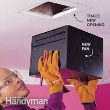 how to install a bathroom fan family handyman