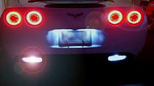 c6 corvette 2005 2013 led eagle eye lights corvette mods