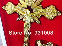 large crucifix rosary medal picture more detailed picture about rosary metal