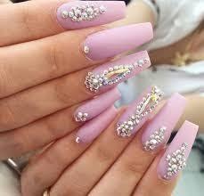 imagenes de uñas acrilicas con pedreria resultado de imagen para uñas de acrilico elegantes con piedras