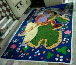 How To Decorate Janmashtami At Home by Krishna Rangoli Designs For Janmashtami Livinghours