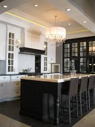 white kitchen with black island black kitchen island contemporary kitchen airoom