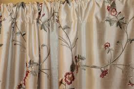 Silk Dupioni Curtains Ready Made Drapery Faux Silk Dupioni