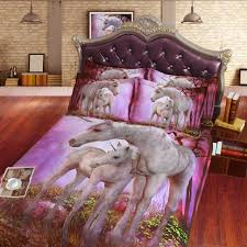 Bed Comforters Sets Comforter Sets Beautiful 3d And Baby Unicorn Children Hd