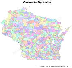 Map Of Wisconsin by Wisconsin Zip Code Maps Free Wisconsin Zip Code Maps