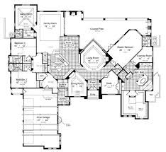 villa plans villa borguese 6431 5 bedrooms and 5 baths the house designers