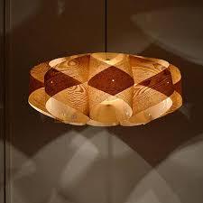 Wood Pendant Light Pendant Light Wood Orbit Pendant Lightchinese Ash Wood